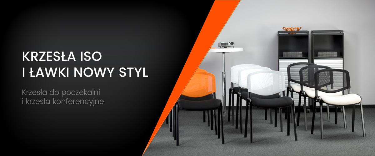 Krzesło ISO. Krzesło konferencyjne - producent Nowy Styl. Sklep internetowy - VALOROUS.pl